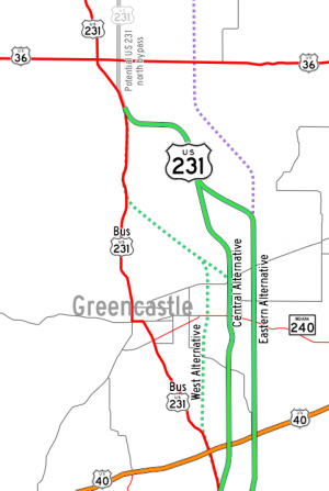 US-231 Greencastle Bypass